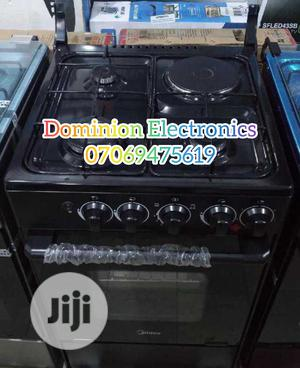 New Midea 3gas 1electric Automatic With Oven Warranty   Kitchen Appliances for sale in Lagos State, Ojo