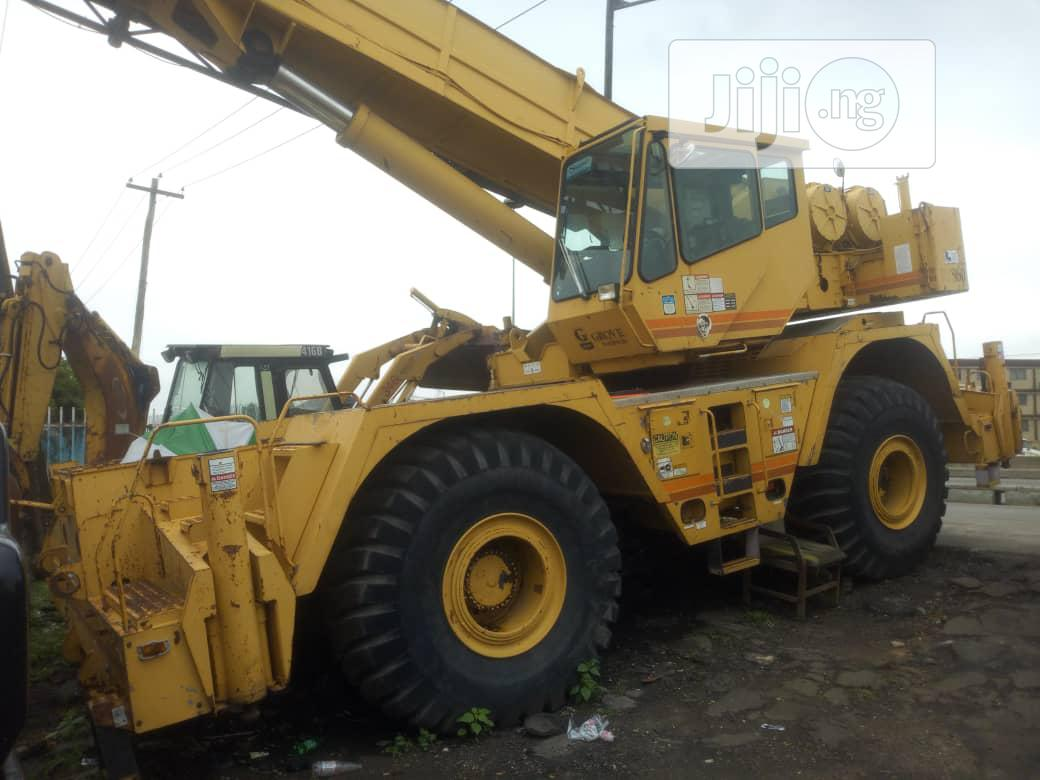 Clean Tokunbo 1997 60tons Crane With Cat Engine For Sale