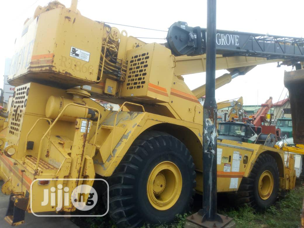 Clean Tokunbo 1997 60tons Crane With Cat Engine For Sale | Heavy Equipment for sale in Amuwo-Odofin, Lagos State, Nigeria