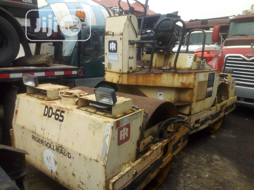 Clean Tokunbo 1996 INGERSOL-RAND Roller With For Sale