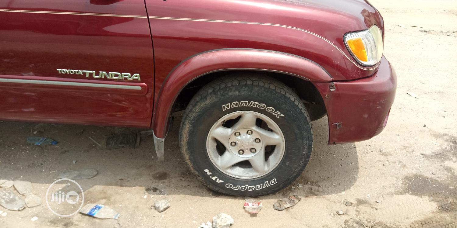 Toyota Tundra Automatic 2003 Red