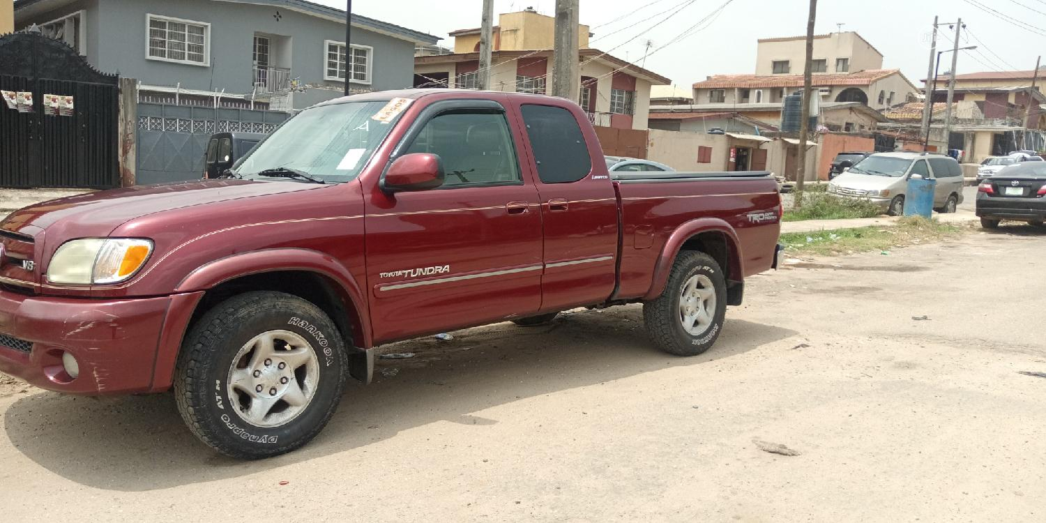 Toyota Tundra Automatic 2003 Red | Cars for sale in Kosofe, Lagos State, Nigeria
