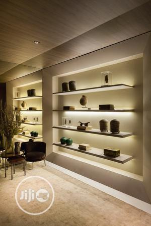 Wall Mounted Shelves With Light | Furniture for sale in Lagos State, Ipaja