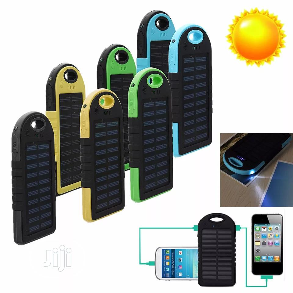 Solar Power Bank | Accessories for Mobile Phones & Tablets for sale in Lagos Island, Lagos State, Nigeria