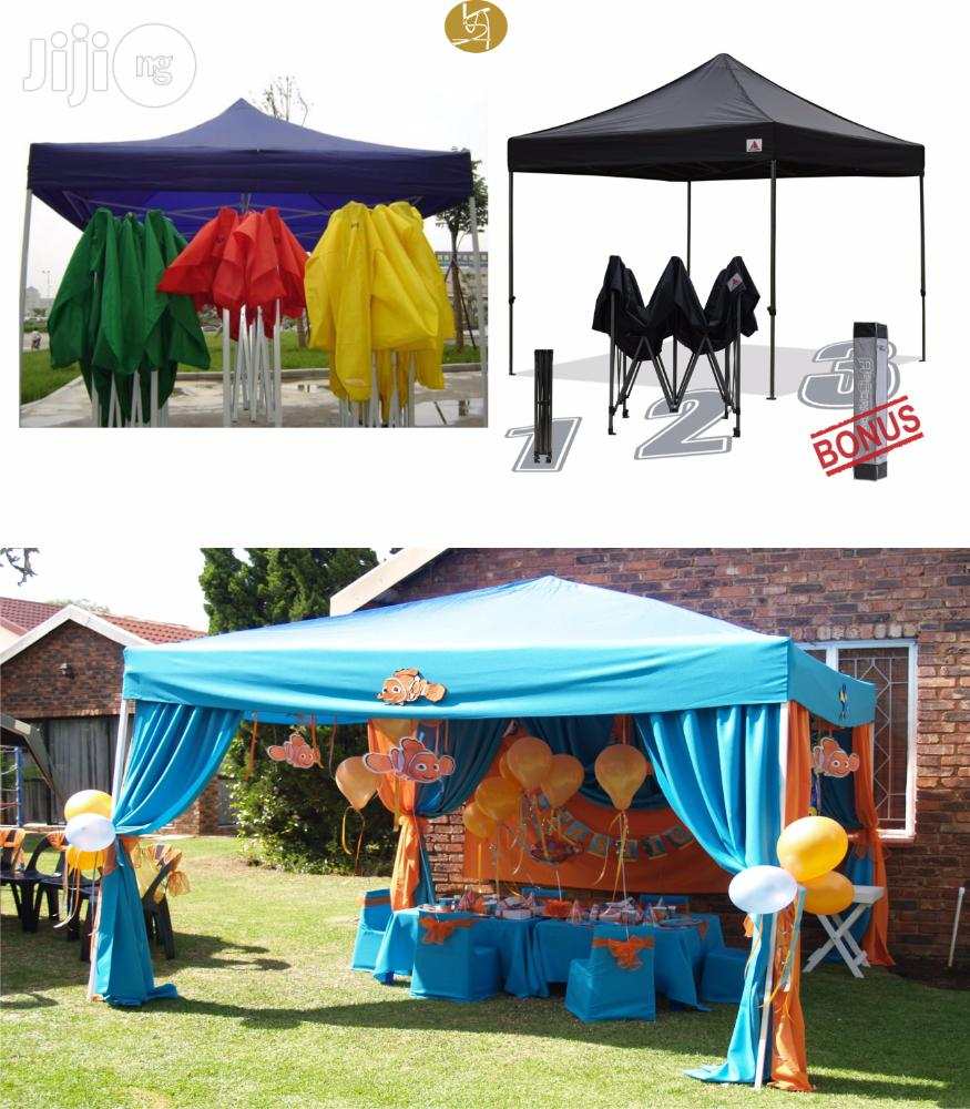 Authen3m by 3m Gazebo / Collapsible Canopy / Tent / Umbrella / Outdoor | Garden for sale in Lagos State, Nigeria