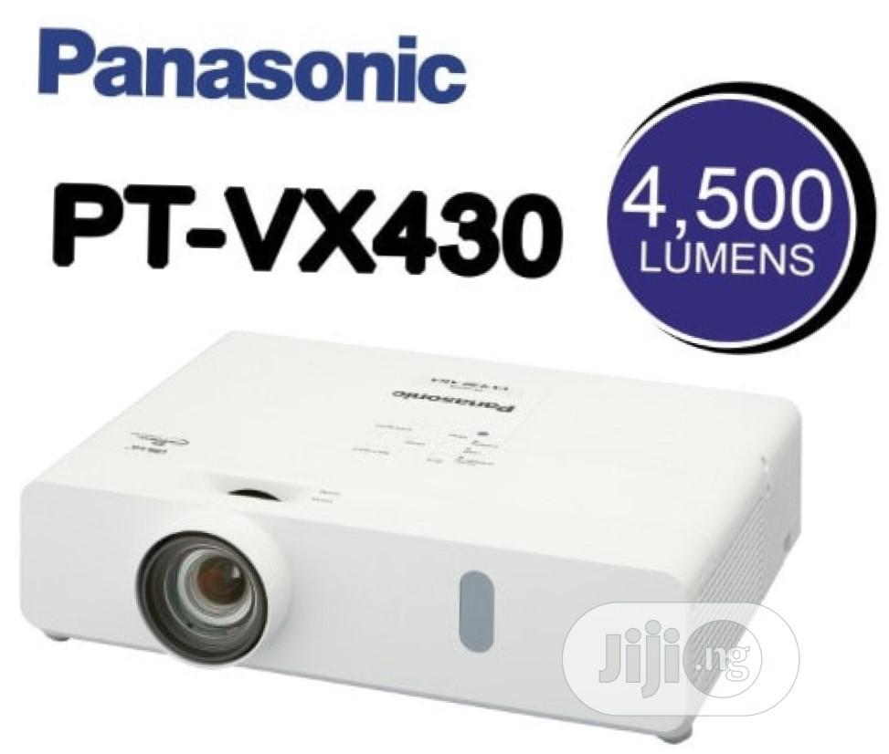 4500 Lumens LCDXGA Projector PT-VX430 - Panasonic D111