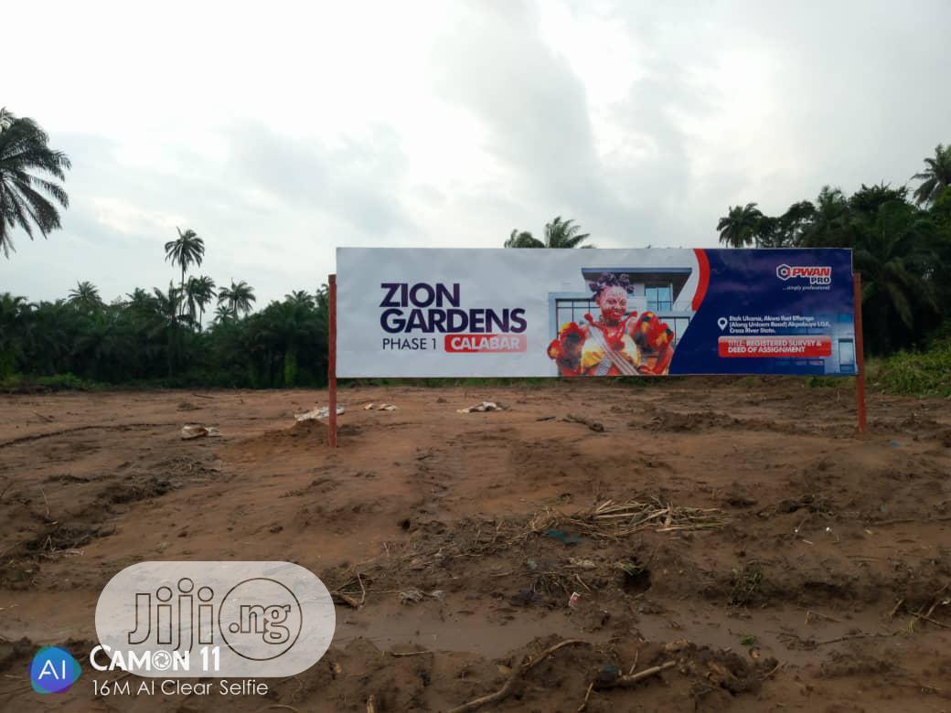 ZION GARDENS Phase 1, Calabar Lands for Sale