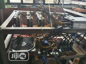 Btc Eth 6 Gpu Mining Rig | Computer Hardware for sale in Lagos State, Isolo