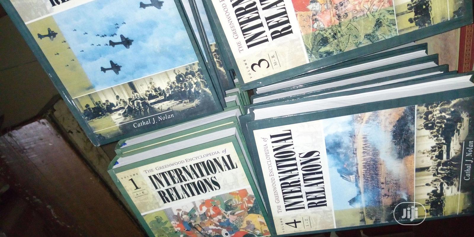Archive: Greenwood Encyclopedia International Relations