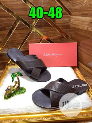 Quality Italian Ferragamo Palm   Shoes for sale in Lagos State, Surulere