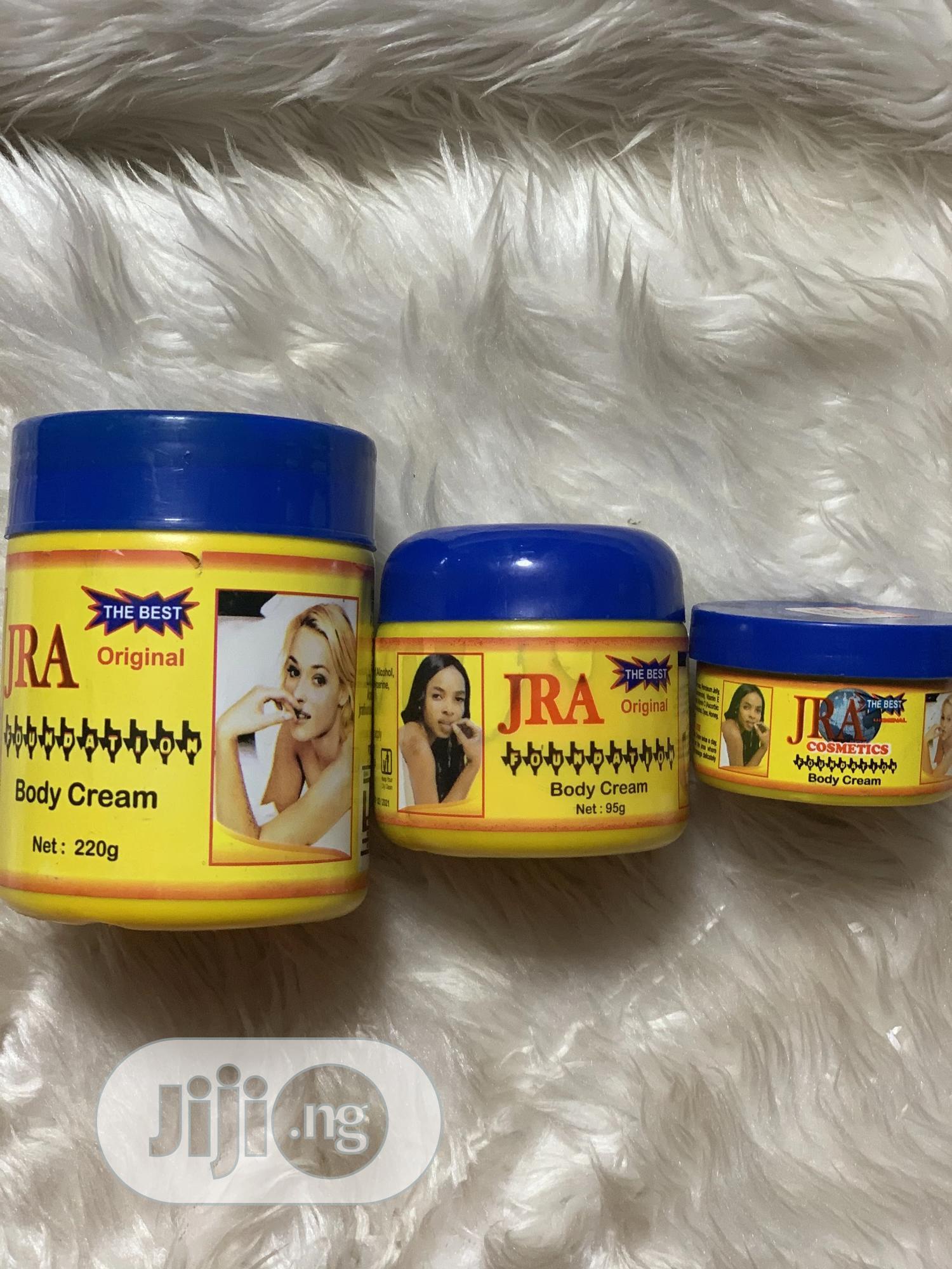 JRA Body Cream And Face Cream