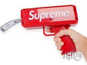 Super Gun Cash Cannon Money Spraying Machine - Red | Toys for sale in Lagos State, Amuwo-Odofin