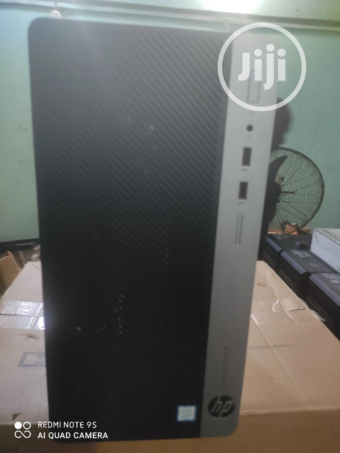 New Desktop Computer HP ProDesk 400 8GB Intel Core i7 HDD 1T   Laptops & Computers for sale in Ikeja, Lagos State, Nigeria