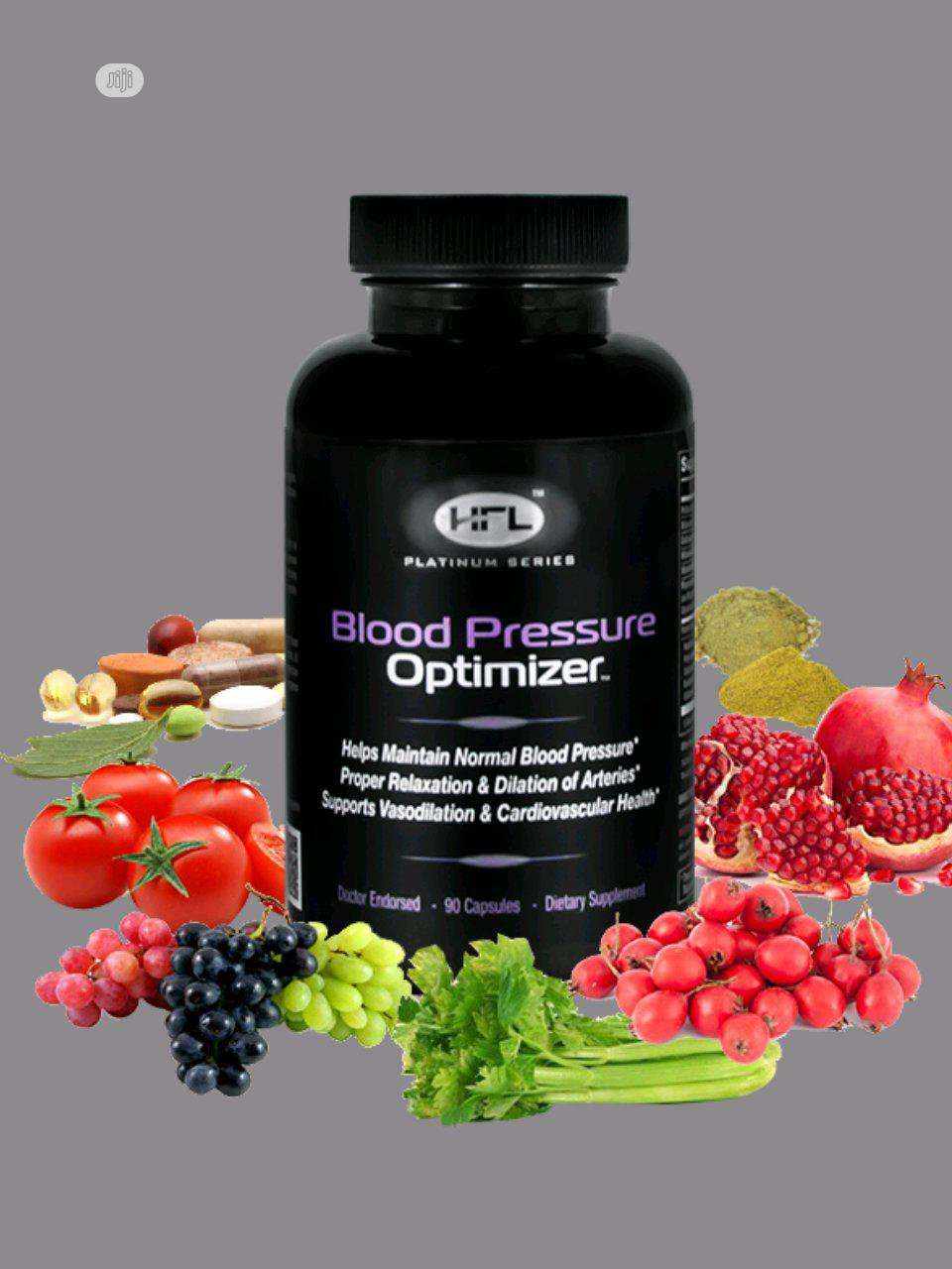Blood Pressure Optimizer