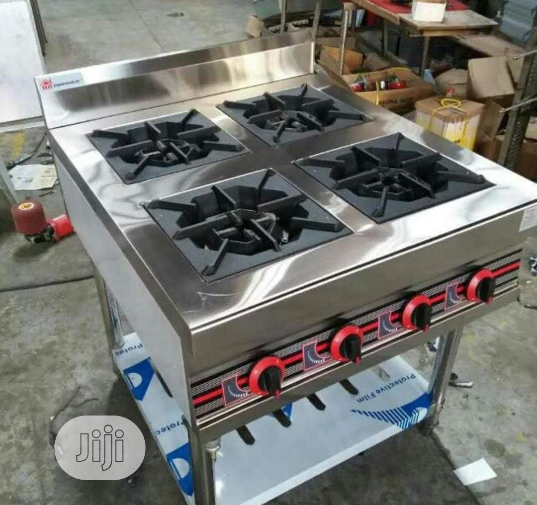 Four Burner Gas Cooker Without Oven