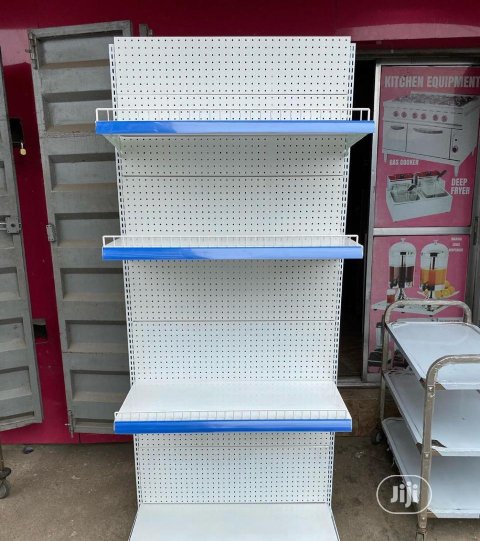 Single Supermarket Shelf