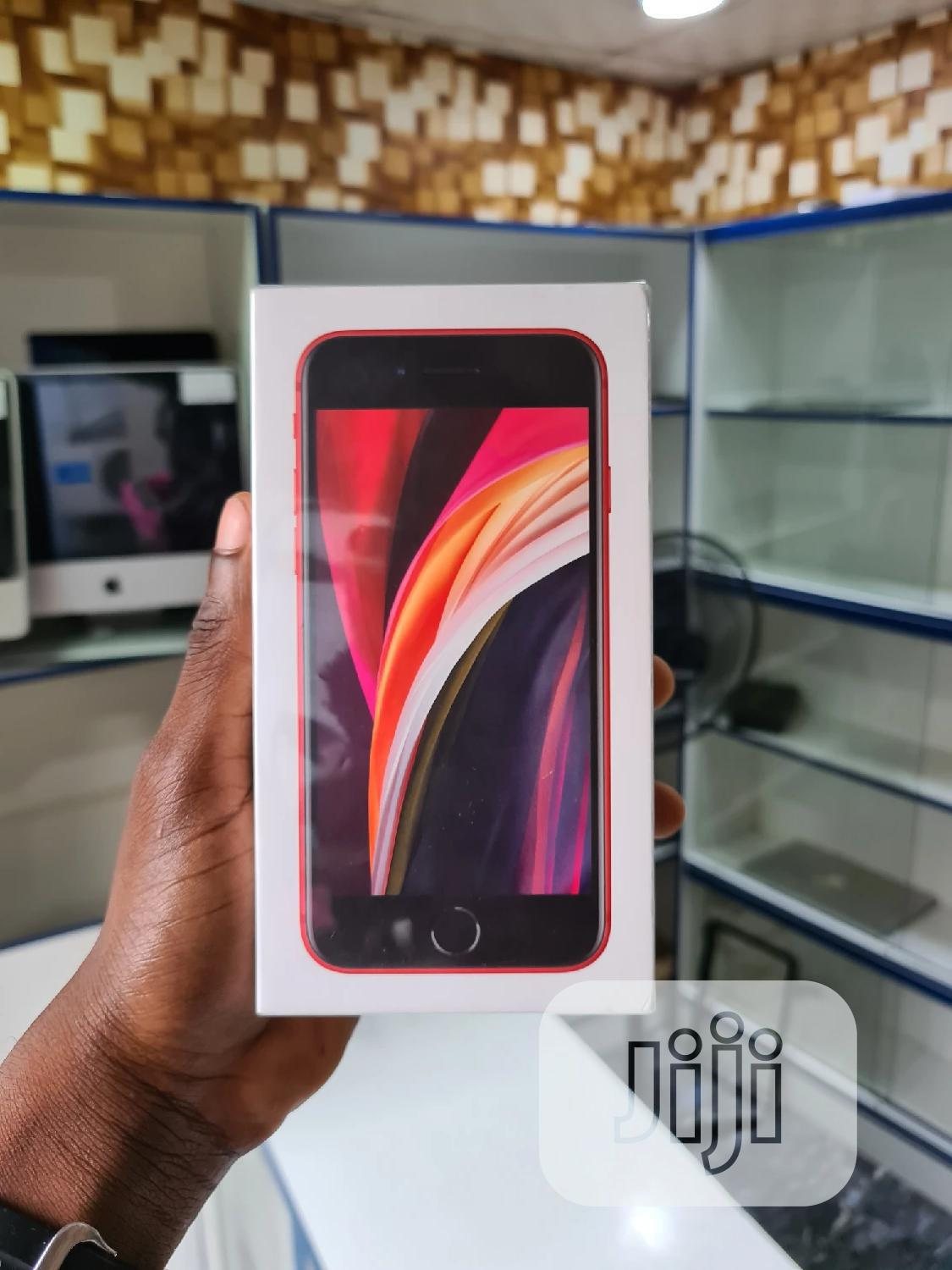 New Apple iPhone SE (2020) 128 GB Red | Mobile Phones for sale in Ikeja, Lagos State, Nigeria