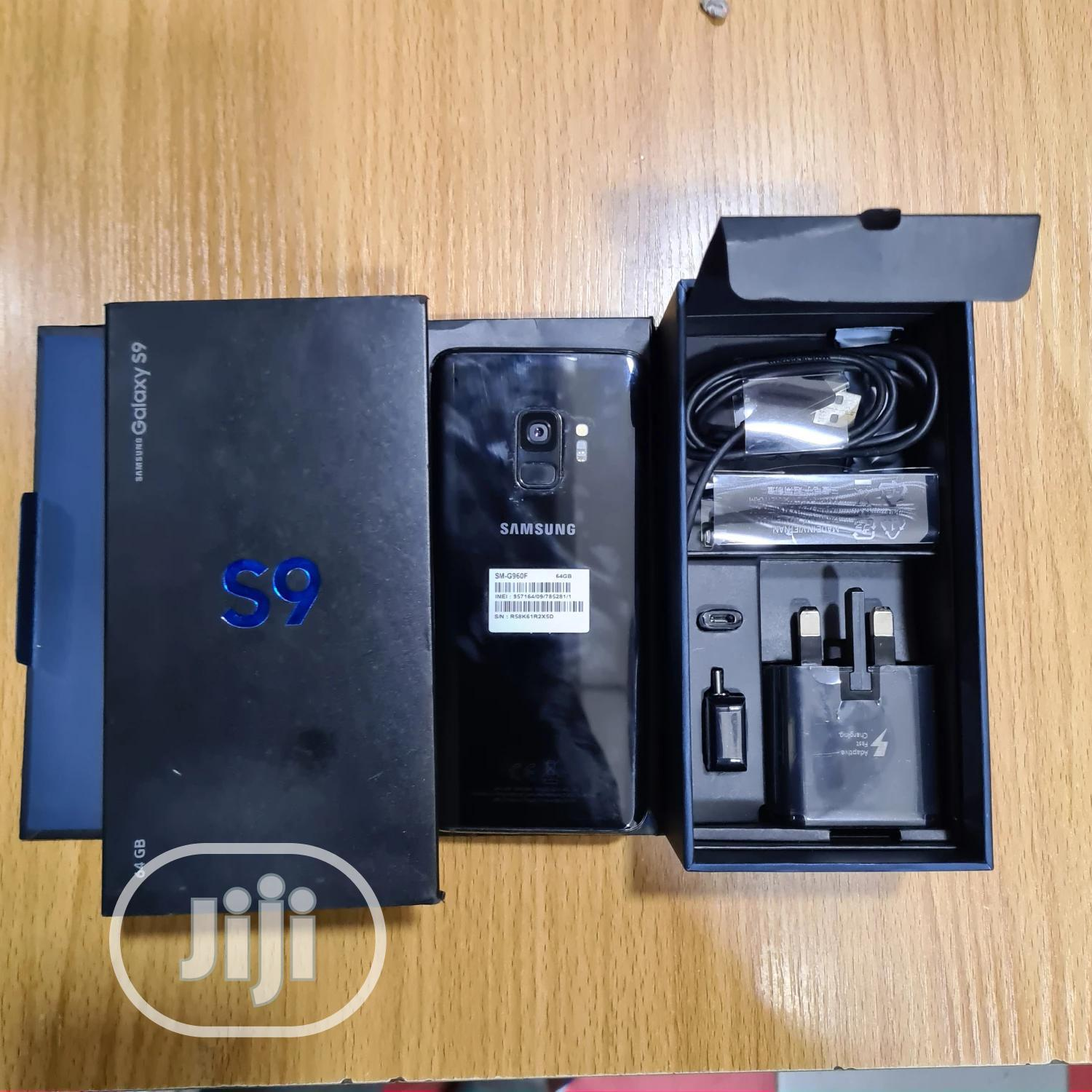 New Samsung Galaxy S9 64 GB Black | Mobile Phones for sale in Ikeja, Lagos State, Nigeria