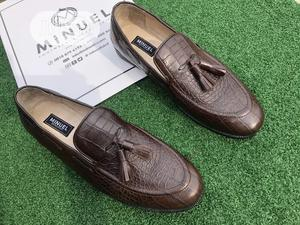 Brown Skin Tassel Loafers | Shoes for sale in Lagos State, Mushin
