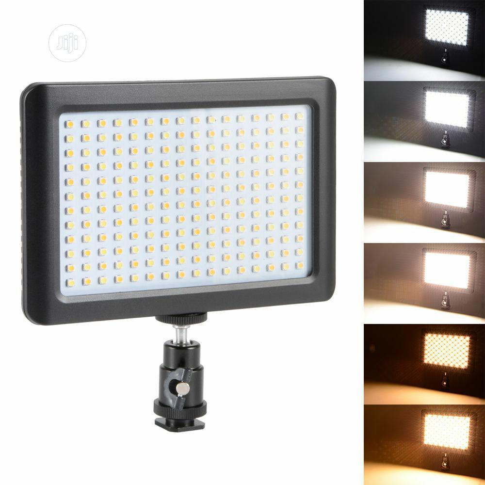 192 6000k Pad LED Video Light Panel Mount Hot Mount Lamp