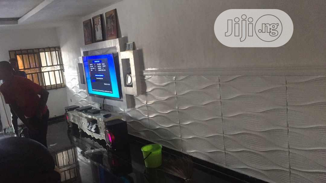 POP, Screeding, 3D Wall Panel, 3D Wallpaper, Painting,   Building & Trades Services for sale in Benin City, Edo State, Nigeria