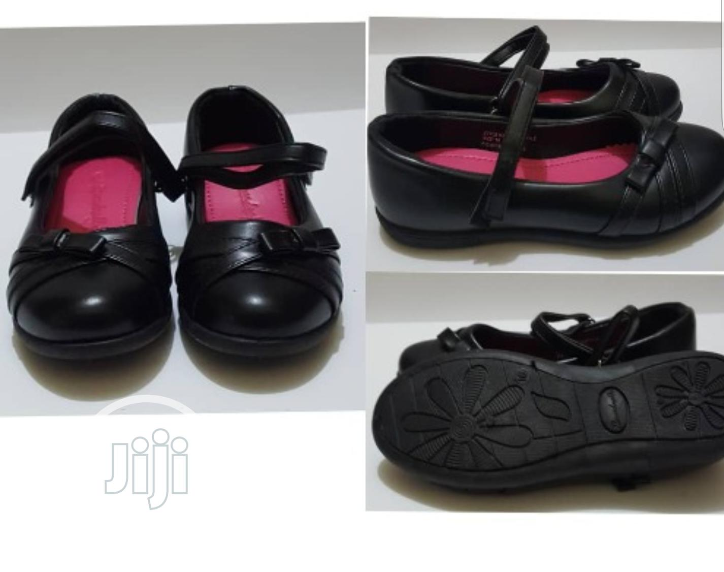 Girls Black School/ Flat Shoes | Children's Shoes for sale in Ikeja, Lagos State, Nigeria