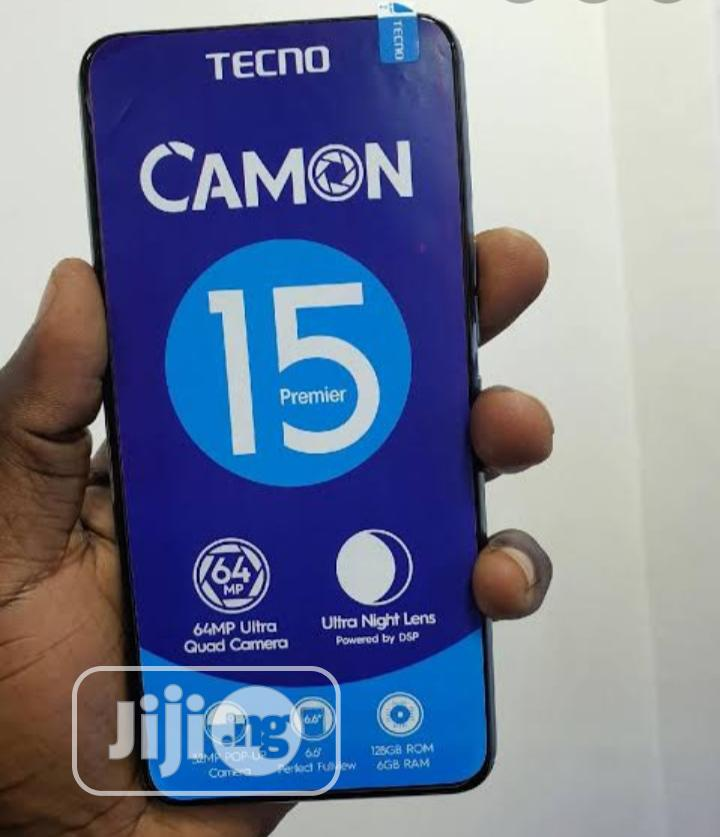 New Tecno Camon 15 Premier 128 GB Black