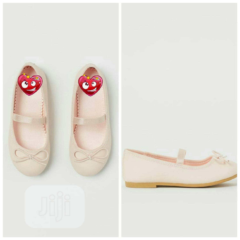 Nude Ballet Flat Shoe in Oshodi