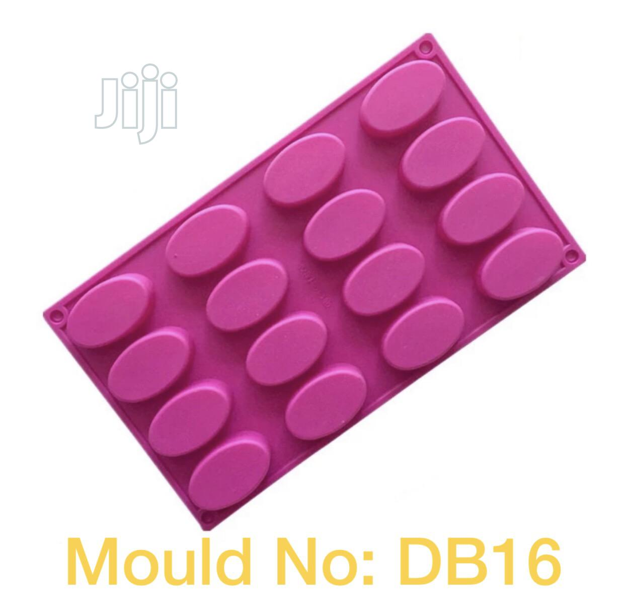 DB16 Cavity Ellipse Shape Silicone Mould (Imported) | Kitchen & Dining for sale in Ikotun/Igando, Lagos State, Nigeria