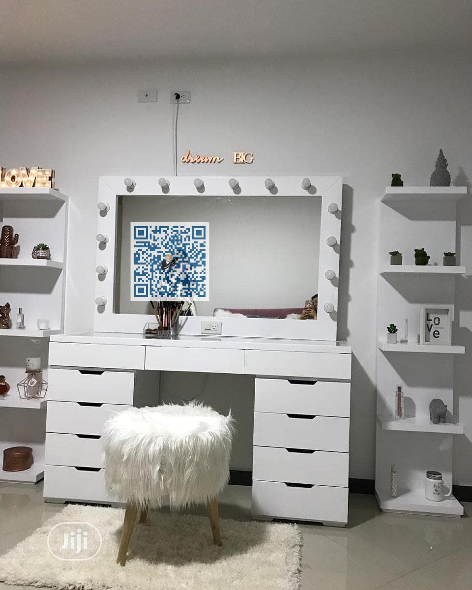 Make-Up Dresser-Table With Shelves