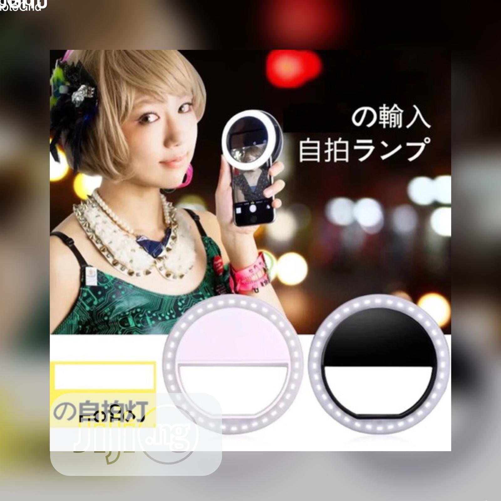 Archive: Mobile Selfie Light For Phones And Tablets