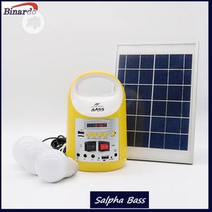 8000mah/6watt Solar Home Light Kit/Rechargeable Power Bank | Solar Energy for sale in Lagos State, Alimosho