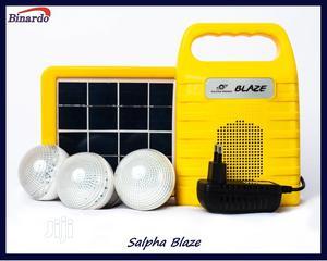 6000mah/4watt Solar Home Light Kit/Rechargeable Power Bank | Solar Energy for sale in Lagos State, Alimosho