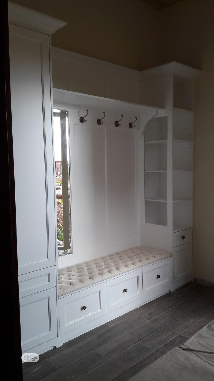 Wooden Open Style Bedroom Wardrobe