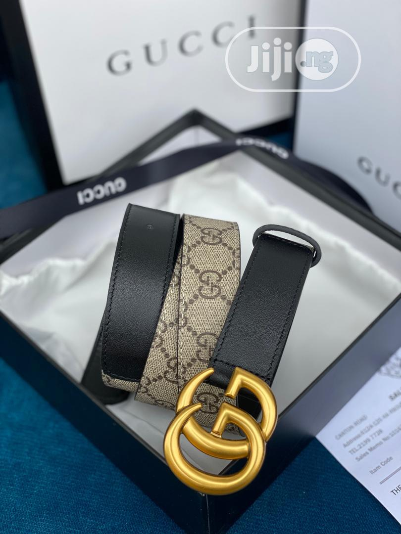 High Quality Gucci Leather Belts