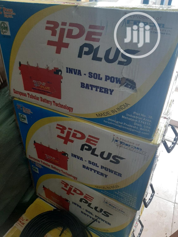 12V 200ah Rideplus Solar Battery