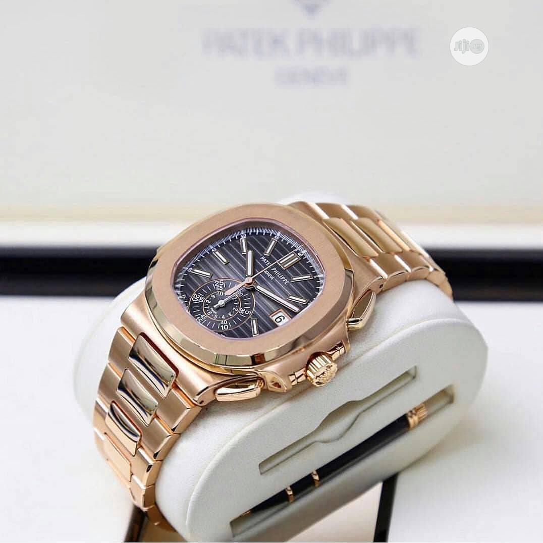 High Quality Patek Philippe Stainless Steel Watch