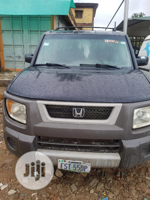 Honda Element 2003 Black | Cars for sale in Ifako-Ijaiye, Lagos State, Nigeria
