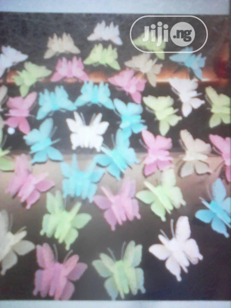 3D Butterfly Glow in Dark Luminous Wall Stickers Home Decor | Home Accessories for sale in Kubwa, Abuja (FCT) State, Nigeria
