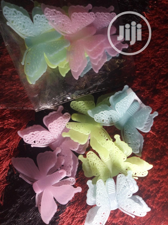 3D Butterfly Glow in Dark Luminous Wall Stickers Home Decor
