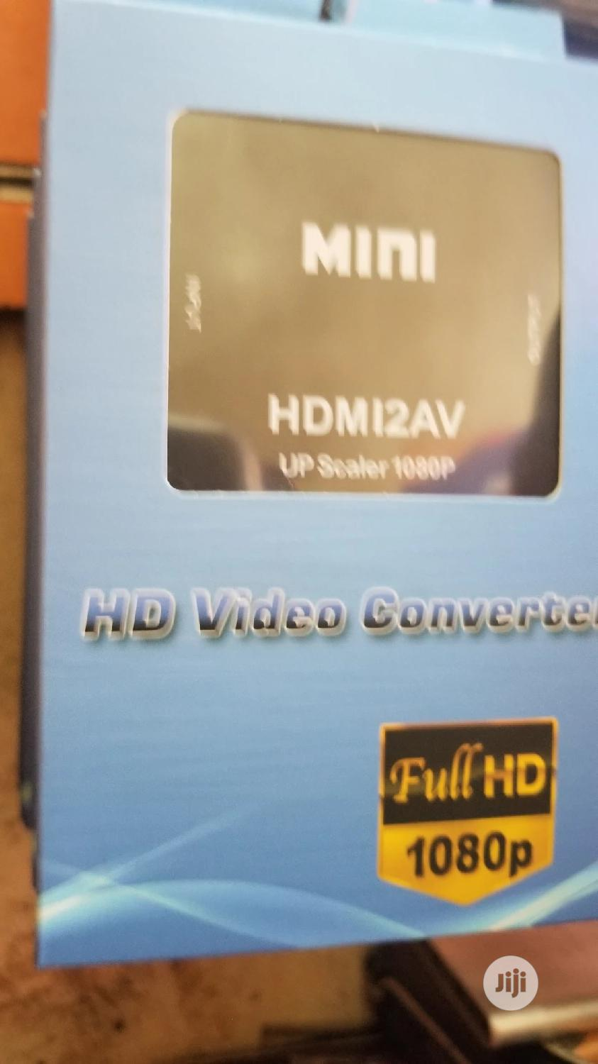 Hdmi Video Capture 2 Av | Accessories & Supplies for Electronics for sale in Ikeja, Lagos State, Nigeria