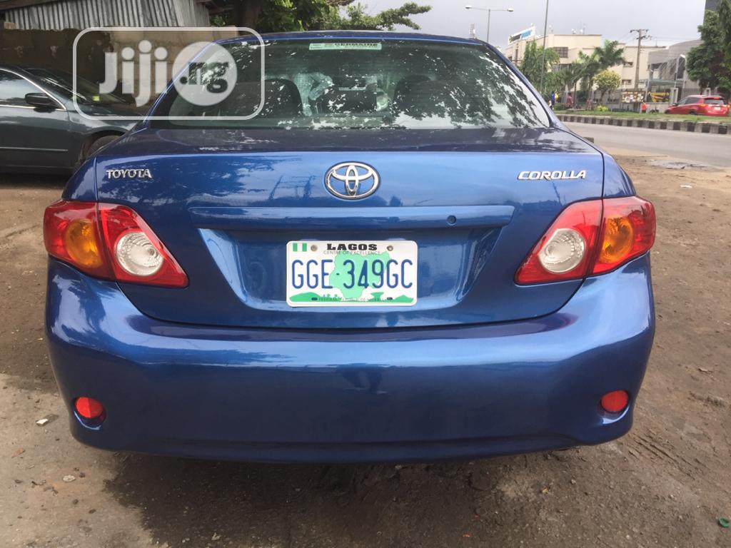 Toyota Corolla 2012 Blue In Surulere Cars Yekin Olawale Jiji Ng For Sale In Surulere Yekin Olawale On Jiji Ng