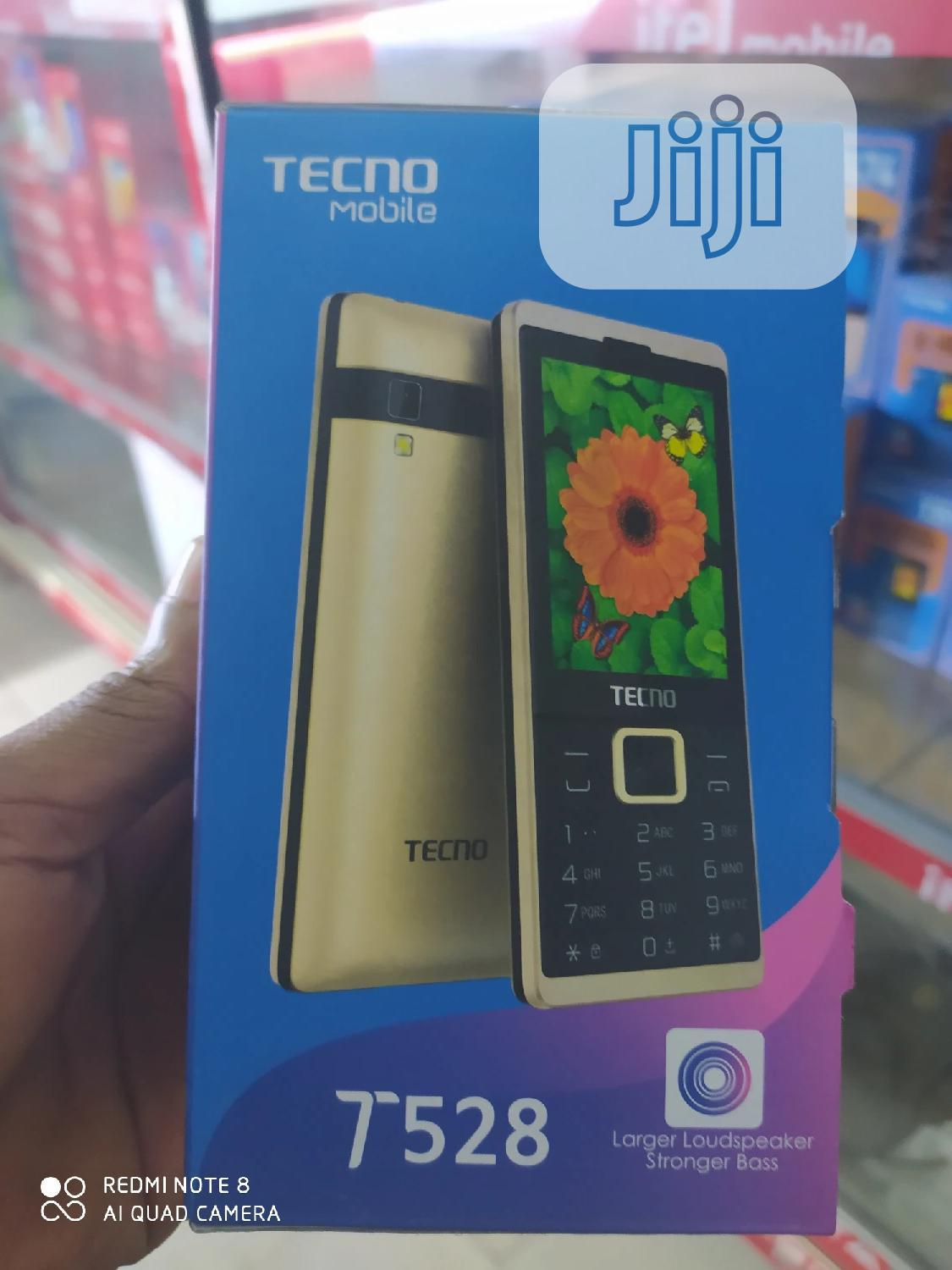 New Tecno T528 Gold