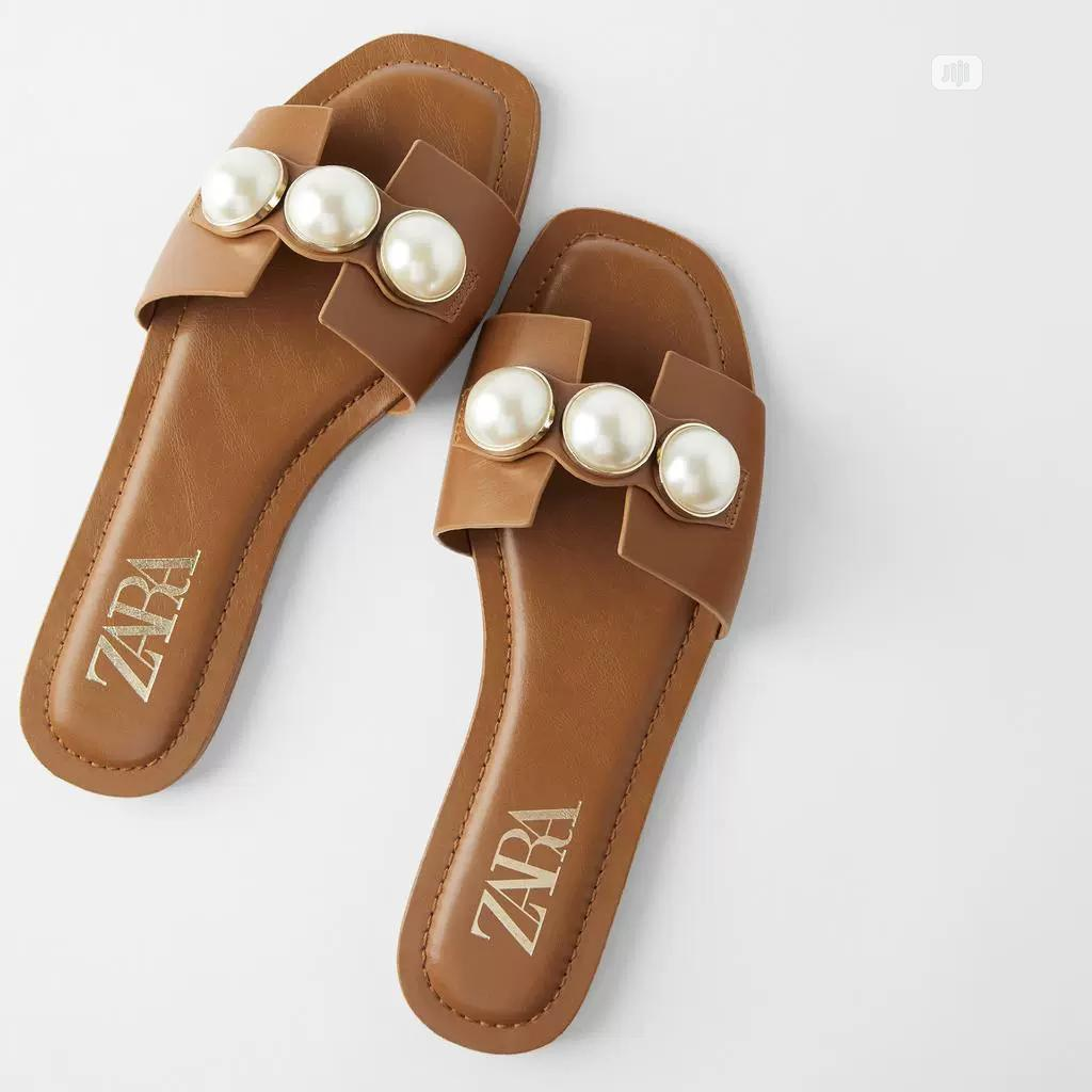 Zara Slippers for Ladies/Women Available for Ladies/Women | Shoes for sale in Lekki, Lagos State, Nigeria