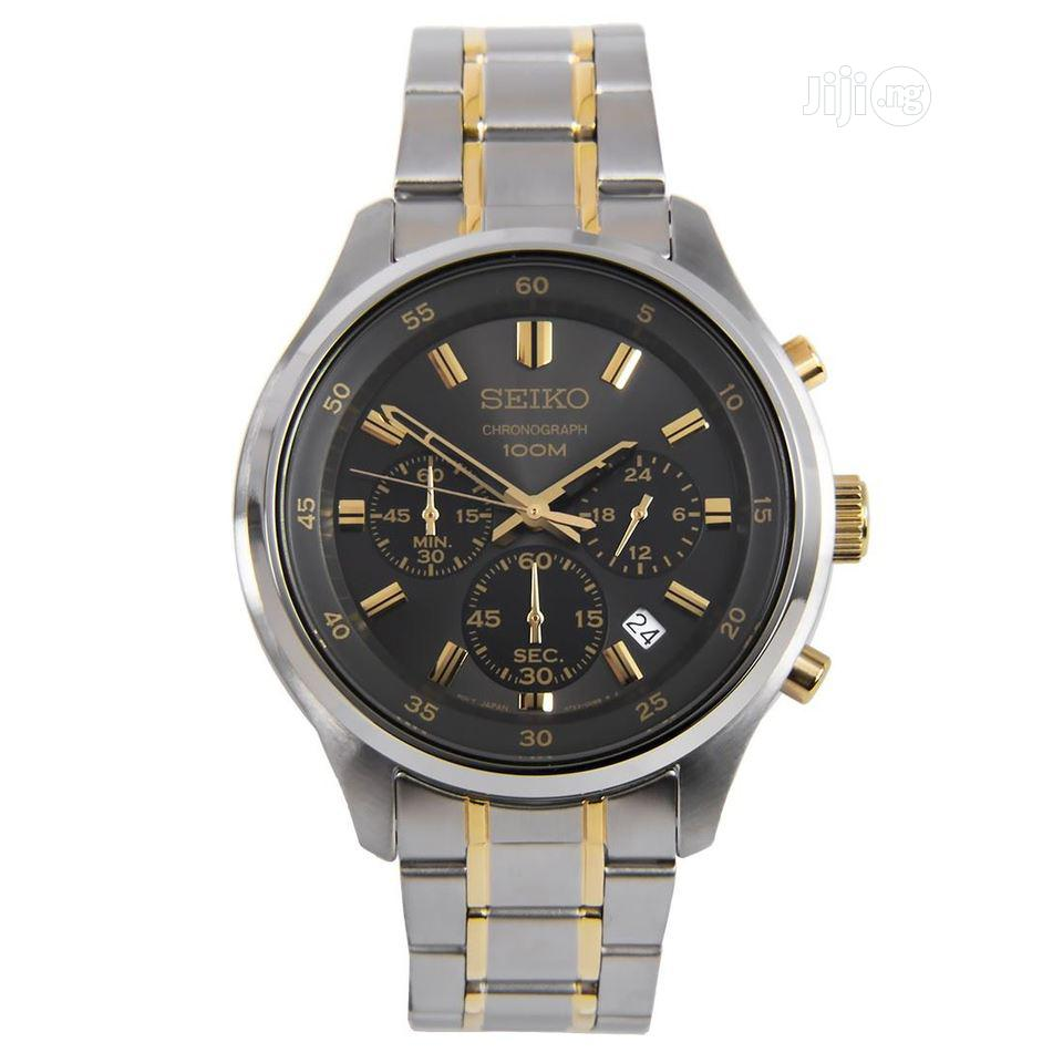 High Quality Seiko Stainless Steel Watch