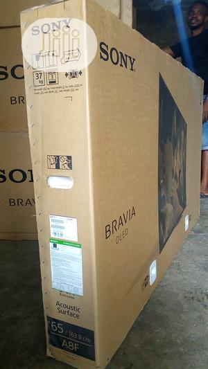SONY Oled 65 Inches Television Model 65A8F Original.   TV & DVD Equipment for sale in Lagos State, Ajah