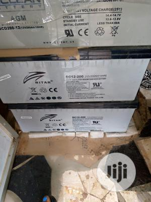 200ah Faily Used Batterry | Solar Energy for sale in Lagos State, Ojo