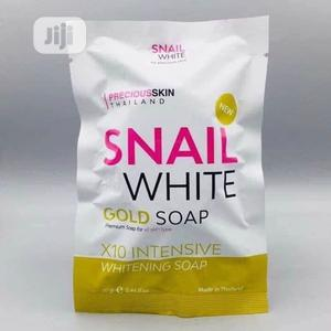 Snail White Gold Glutathione Collagen Soap X10 WHITENING | Skin Care for sale in Lagos State, Ojo