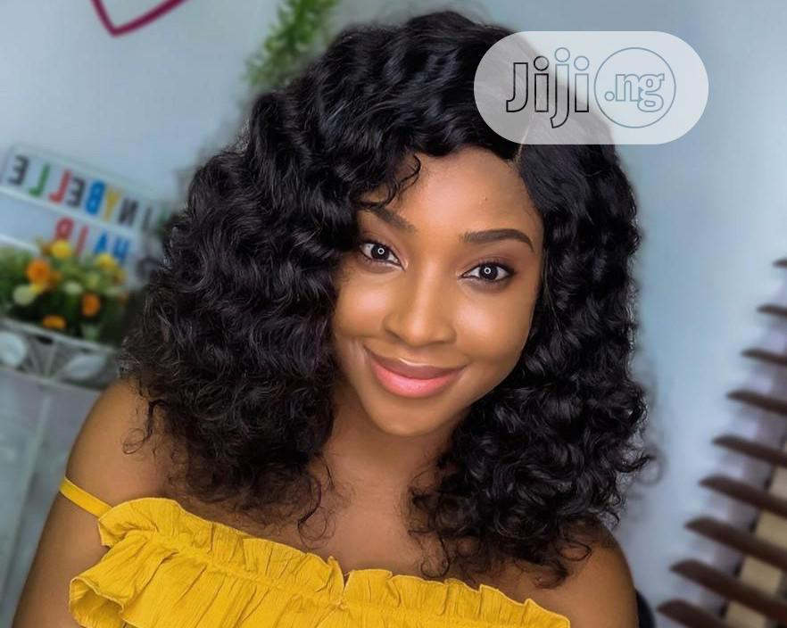Human Hair Bold Curls With Full Closure 12inches