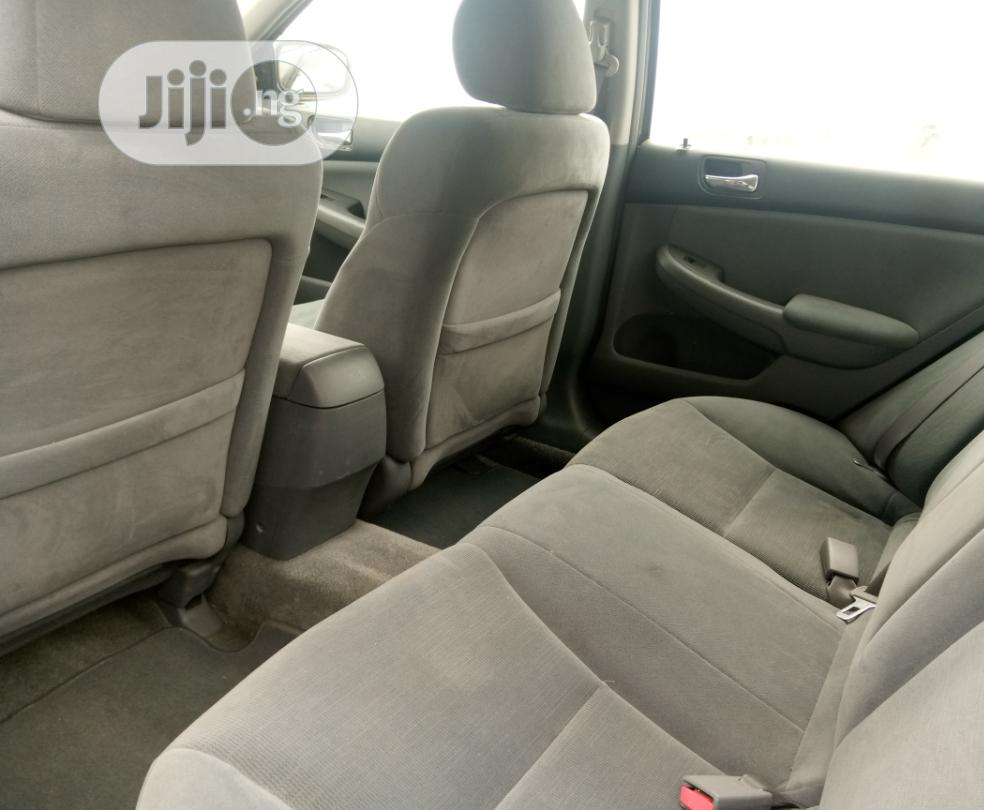 Honda Accord 2007 Sedan SE V-6 Automatic Gray | Cars for sale in Surulere, Lagos State, Nigeria